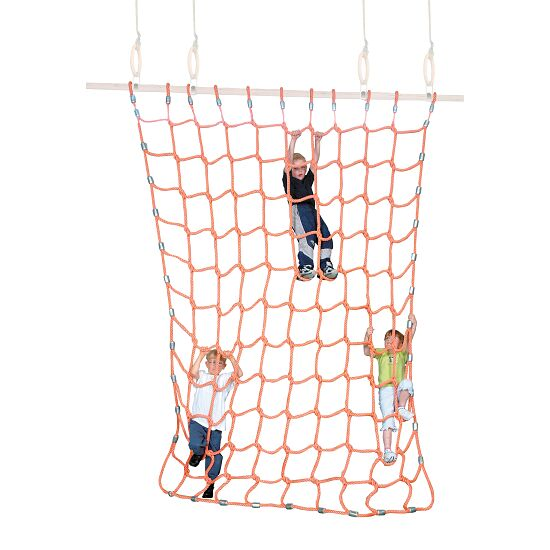 Sport-Thieme® Klimnet Polypropyleen, oranje, 3x2,5 m