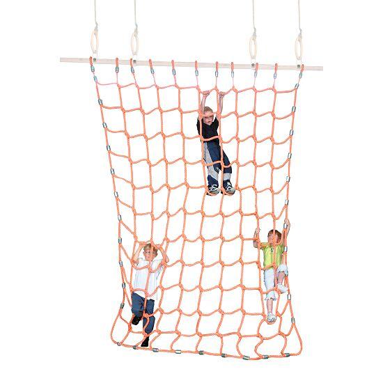 Sport-Thieme Klimnet Polypropyleen, oranje, 2x2 m
