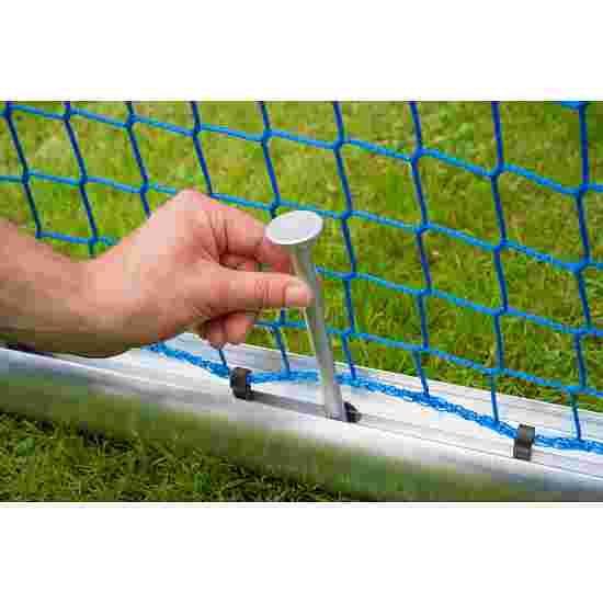 Sport-Thieme Mini-Trainingsdoel, volledig gelast 1,20x0,80 m, diepte 0,70 m, Incl. net, groen (mw 10 cm)