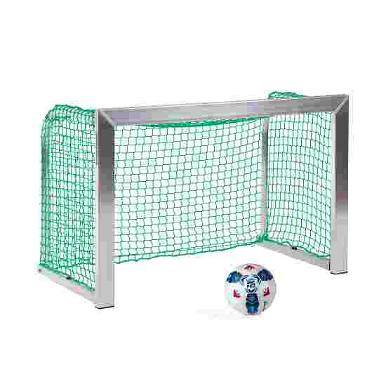 Sport-Thieme Minitraining doel, met inklapbare netbeugels 1,20x0,80 m, diepte 0,70 m, Incl. net groen (mw 4,5 cm)