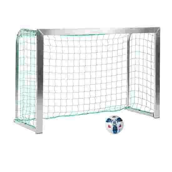 Sport-Thieme Minitraining doel, met inklapbare netbeugels 1,80x1,20 m, Tortiefe 0,70 m, Incl. net, groen (mw 10 cm)