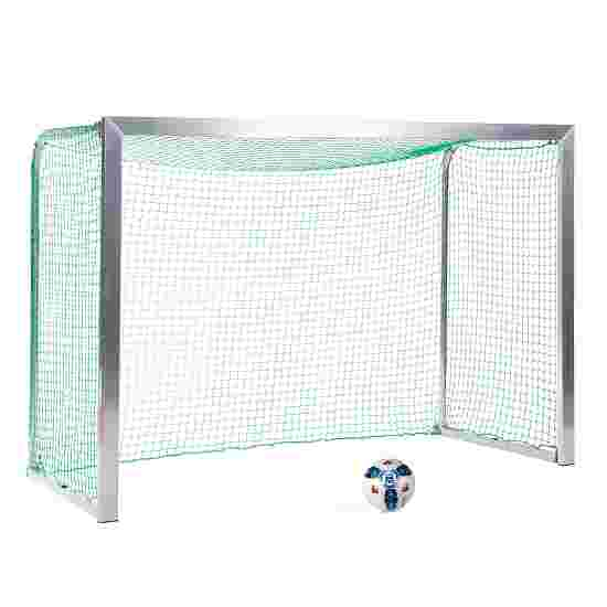 Sport-Thieme Minitraining doel, met inklapbare netbeugels 2,40x1,60 m, diepte 1,00 m, Incl. net groen (mw 4,5 cm)