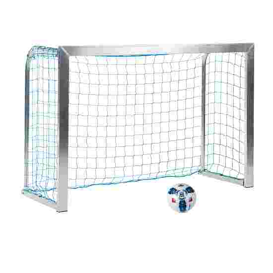 Sport-Thieme Minitraining doel, met inklapbare netbeugels 1,80x1,20 m, Tortiefe 0,70 m, Incl. net, blauw (mw 10 cm)