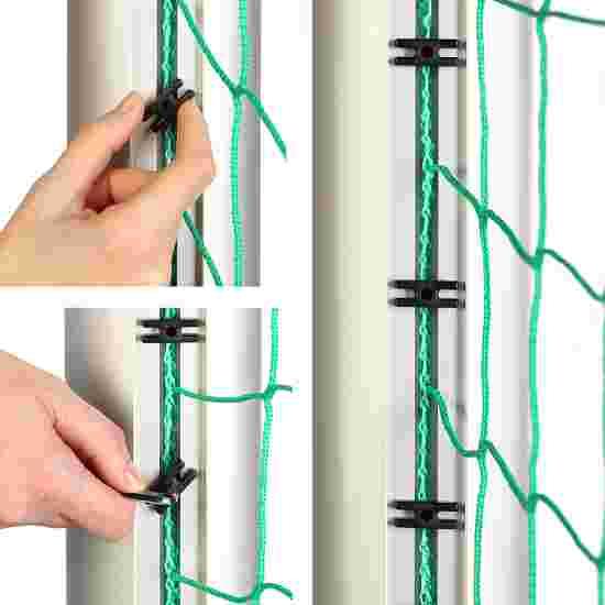 Sport-Thieme Minitraining doel, met inklapbare netbeugels 1,20x0,80 m, diepte 0,70 m, Incl. net, groen (mw 10 cm)
