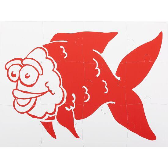 Sport-Thieme® Onderwater-Omkeerpuzzel Groot: inktvis en vis
