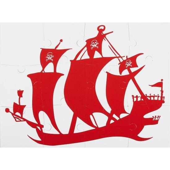 Sport-Thieme® Onderwater-Omkeerpuzzel Klein: piratenschip en schatkist
