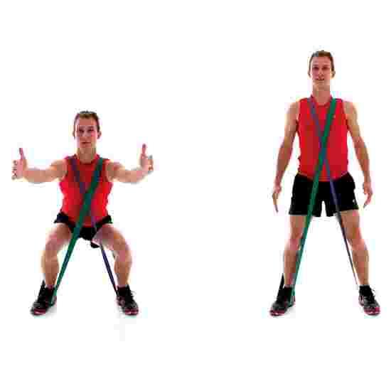 "Sport-Thieme Powerband ""Jumpstretch"" Oranje, ultra sterk"