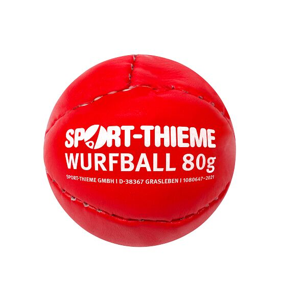 Sport-Thieme slagbal 80 g Rood