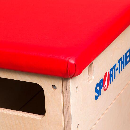 "Sport-Thieme® springkast ""Multiplex"" 5-delig Zonder zwenkwielinrichting, Bekleding van rundkernleder"