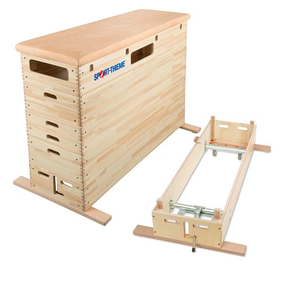 Sport-Thieme® Springkasten Met zwenkwiel-inrichting