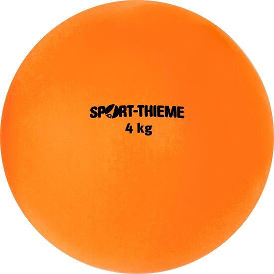 Sport-Thieme® Stootkogel van kunststof 4 kg, oranje, ø 134 mm