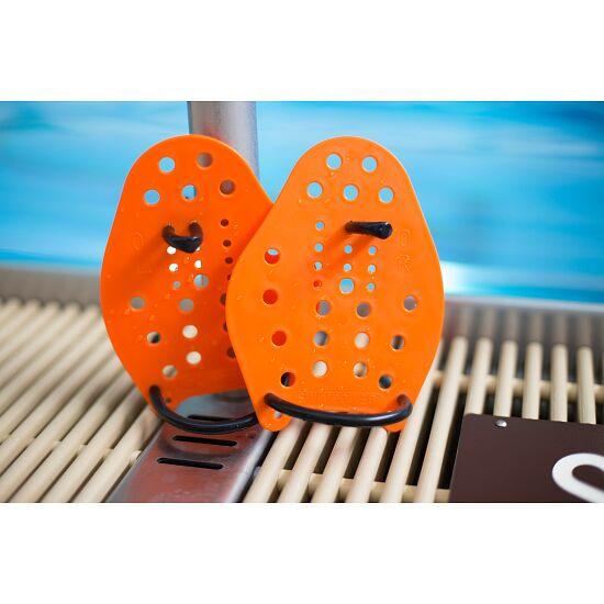 Sport-Thieme Swim-Power Paddles Maat XS, 17x13 cm, oranje