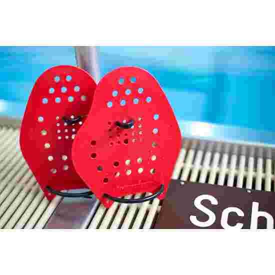 Sport-Thieme Swim-Power Paddles Maat L, 23x19 cm, rood