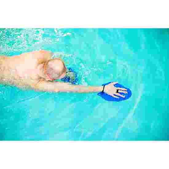 Sport-Thieme Swim-Power Paddles Maat XL, 24x20 cm, blauw