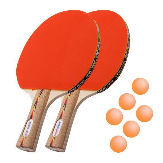 "Sport-Thieme® Tafeltennisbat-Set ""Berlin"" Oranje balletjes"