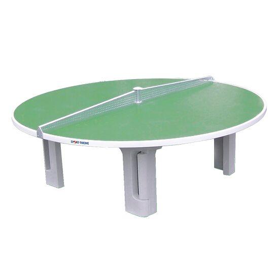 """Sport-Thieme Tafeltennistafel Polymeerbeton tafeltennistafel """"Rondo"""" Groen"""