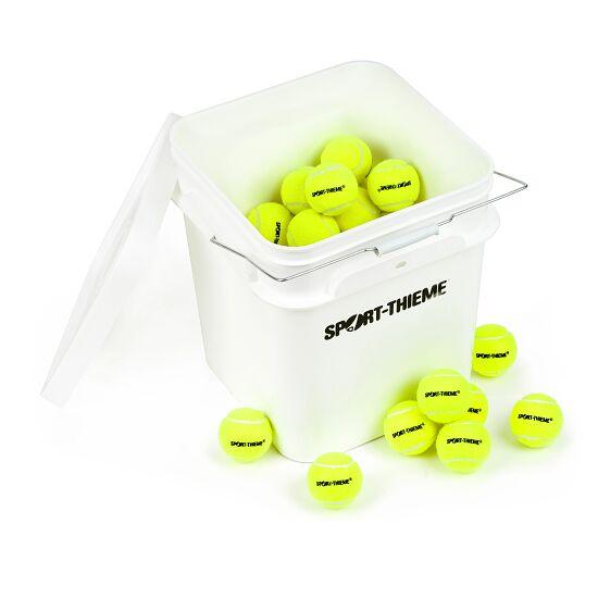 Sport-Thieme Tennisballen Set van 60 incl. emmer