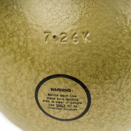 """Sport-Thieme Trainings-Stootkogel """"School"""" 7,26 kg, geel, ø 126 mm"""