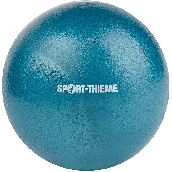 Sport-Thieme® Trainings-Stootkogel 6 kg, blauw, ø 119 mm