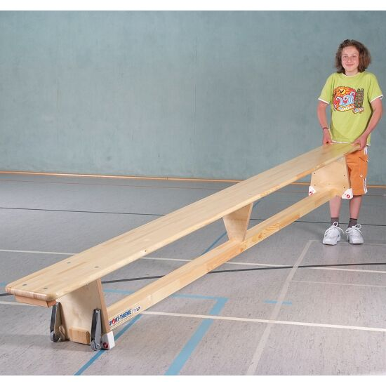 "Sport-Thieme® Turnbank ""Original"" 2 m, Met transportwielen"