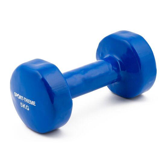Sport-Thieme® Vinyl Handhalter 5 kg, blauw