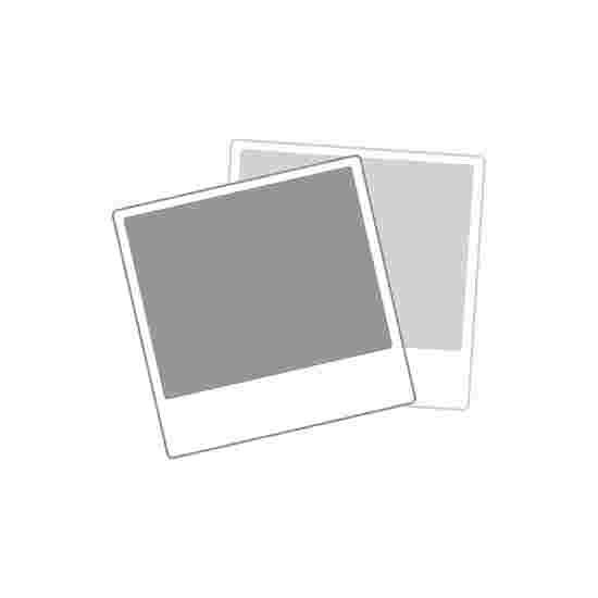 Sport-Thieme Volledig gelast Trapvoetbaldoel Vierkant profiel 80x80 mm, 300x200x70 cm met Basketbaldoelbord