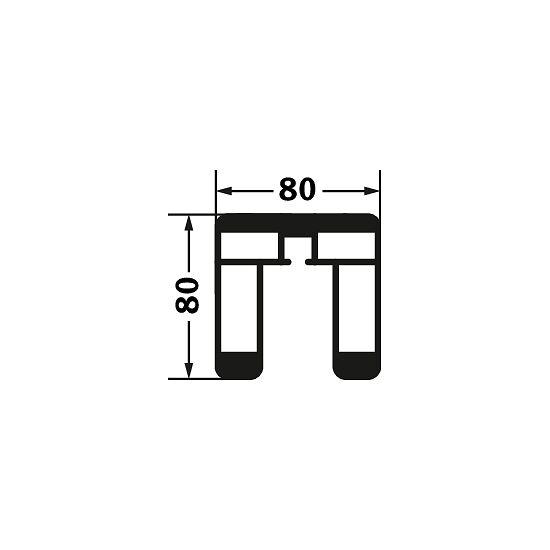 Sport-Thieme® Volleybalpalen 80x80 mm Met spindelspansysteem