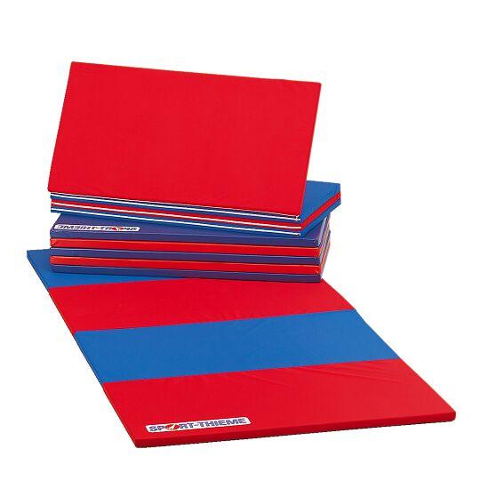 Sport-Thieme® Vouwmat 360x120x3 cm, Blauw-rrod