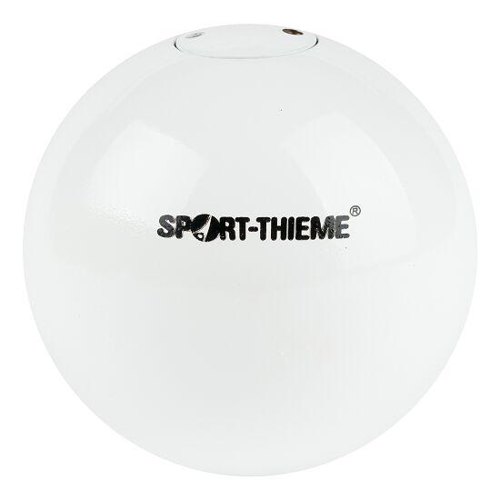 "Sport-Thieme Wedstrijd-Stootkogel ""Staal"" 3 kg, wit, ø97 mm"