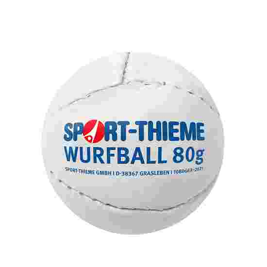 "Sport-Thieme Werpbal ""Leder 80"" Wit"