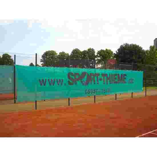 Sport-Thieme Windschermdoek 12x2 m donkergroen