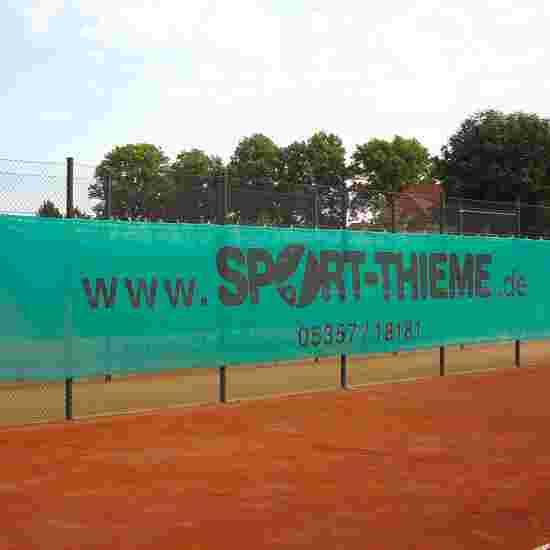 Sport-Thieme Windschermdoek 18x2 m donkergroen