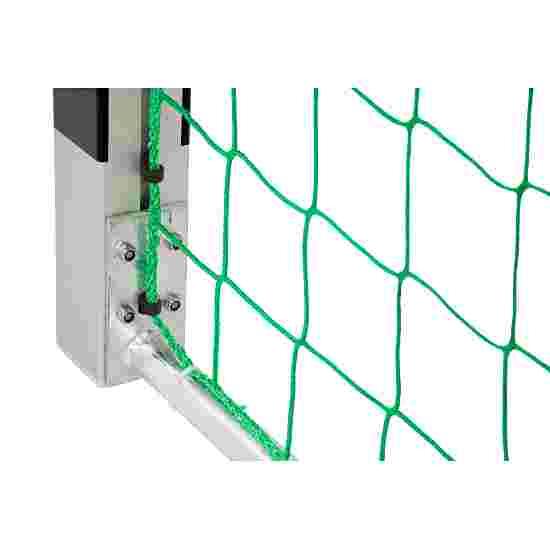 Sport-Thieme Zaalhandbaldoel 3x2 m, vrijstaand met gepatenteerde hoekverbinding Met vaststaande netbeugels, Zwart-zilver