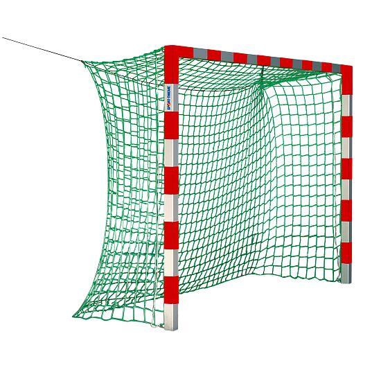 Sport-Thieme® Zaalhandbaldoel, 3x2 m, zonder netbeugels Rood-zilver