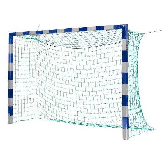 Sport-Thieme Zaalvoetbal 3x2 m, in grondbussen staand met gepatenteerde hoekverbinding Zonder netbeugel, Blauw-zilver