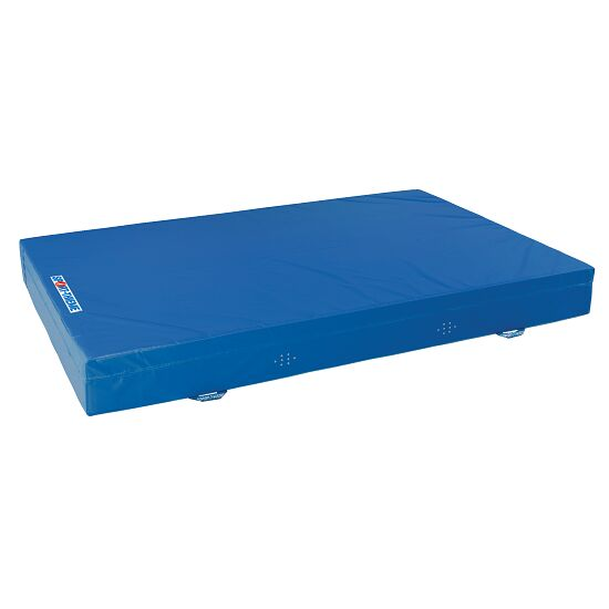 Sport-Thieme Zachte valmat Type 7 Blauw, 150x100x25 cm