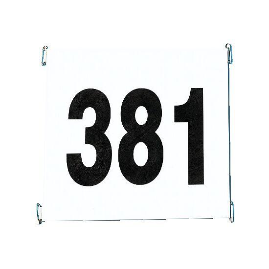 Startnummerset van scheurvast papier Set 1-100