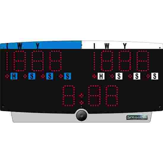 "Stramatel® Judo Scorebord ""J-Top"" Met gebruik van netaansluiting"