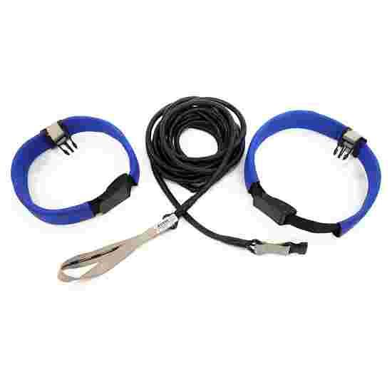 StrechCordz Aqua-Gym Long-Belt Zilver, treksterkte 1,3-3,6 kg