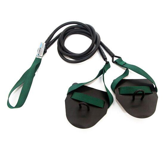 StrechCordz® met handpaddles Groen, treksterkte 3,6-10,8 kg