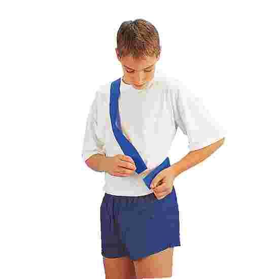 Teamband met klittenbandsluiting Kinderen, lengte: ca. 50 (100) cm, Blauw