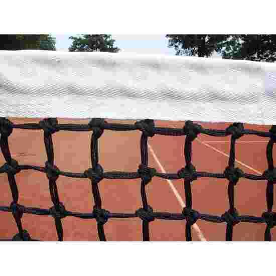 Tennisnet Dubbele rij met spandraad onderaan