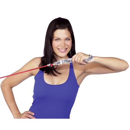 TheraBand™ Bodytrainer Tubing 1,4 m met handgrepen Rood, medium