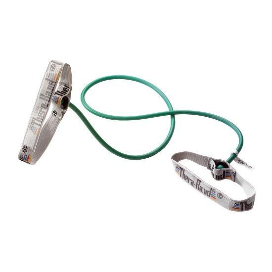 TheraBand™ Bodytrainer Tubing 1,4 m met handgrepen Groen, zwaar