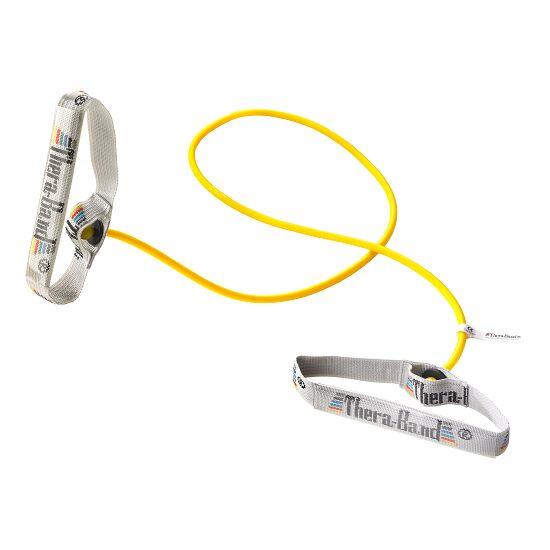 TheraBand Bodytrainer Tubing 1,4 m met handgrepen Groen, licht