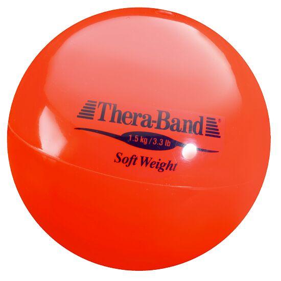 TheraBand Gewichtsbal 1,5 kg, rood
