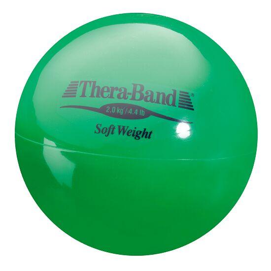 TheraBand Gewichtsbal 2 kg, Groen