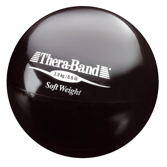 TheraBand Gewichtsbal 3 kg, zwart
