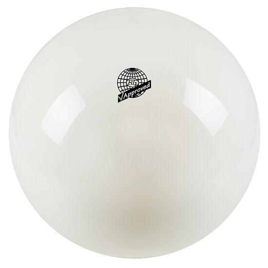 "Togu® Hoogglanzende Wedstrijd-Gymnastiekbal ""420"" FIG Wit"