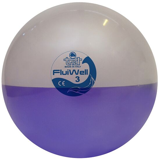 Trial Medicinebal  Fluiball 3 kg, ø 22,5 cm